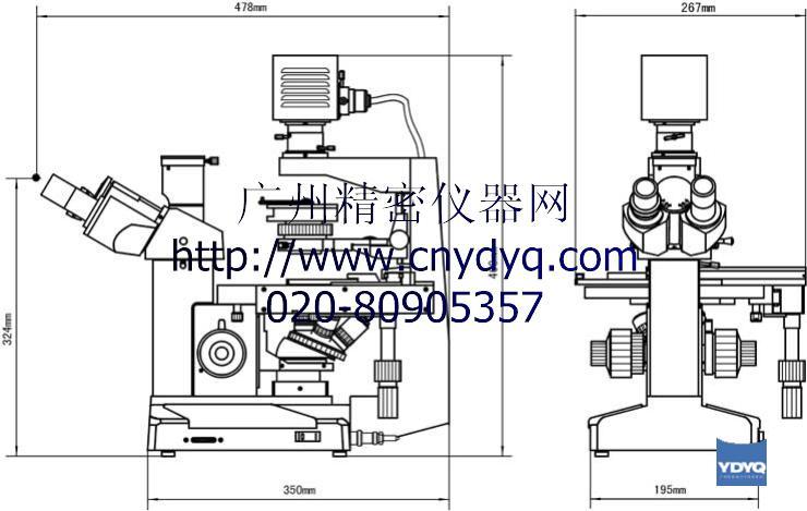 机械调焦结构原理图