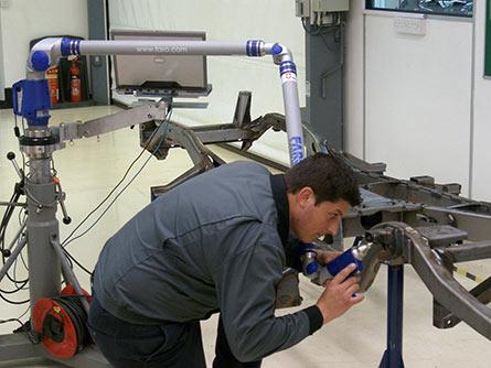 FaroArm测量臂是London Taxis的理想测量选择