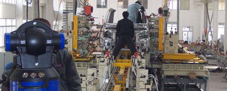 成功案例: 激光跟踪仪-在大型焊接生产线装配上的应用