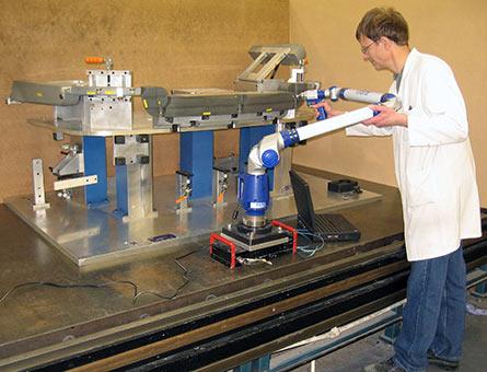 Kellforms 利用FaroArm Platinum柔性关节臂测量机节省时间和成本