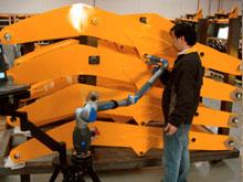 JCB杰西博工程机械(上海)选择了FARO便携式三维测量臂