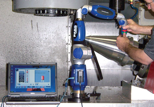 Amtec通过使用FARO Gage-PLUS三维便携式关节臂测量机中节省了在检查过程中的时间