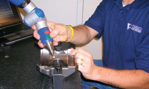 美國液壓維修、設計有限公司(HRD)應用FARO GAGE三坐標測量儀