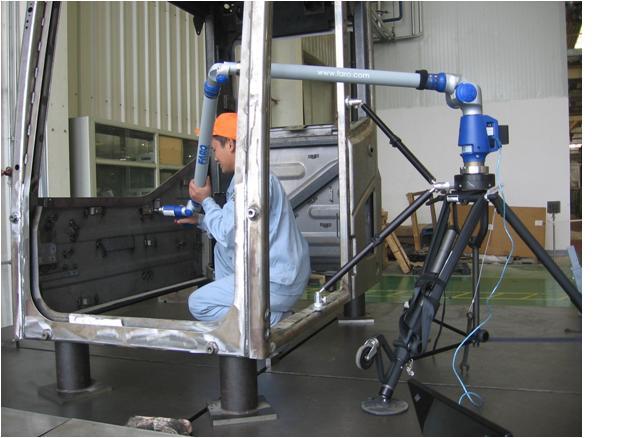 FaroArm关节臂三坐标测量机 成功解决工程机械驾驶室的测量难题