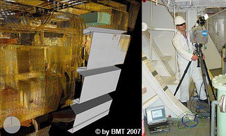 法如的激光扫描仪大大缩短了BMT Defence Services的测量时间