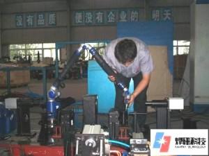 法如测量臂支持高端焊接