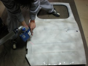 FARO铂金扫描测量臂在东风特种车身厂的应用