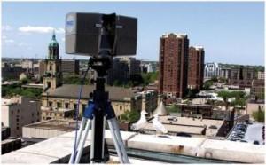 法如激光扫描仪还原古建筑